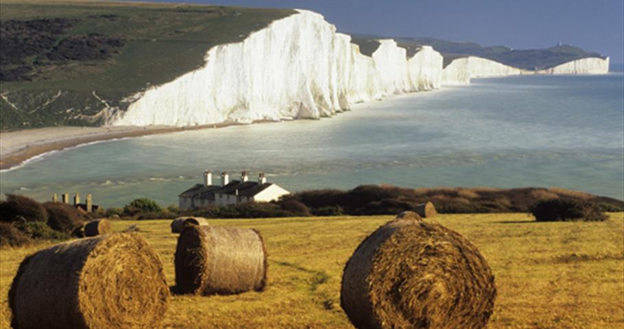 View of Seven Sisters, East Sussex