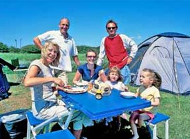 Camping and Caravanning Club Site Normans Bay, Pevensey