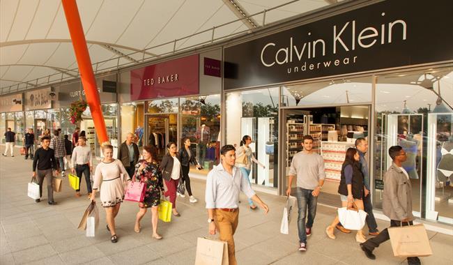 Ashford Designer Outlet Shopping Centre In Ashford