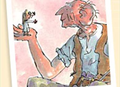 The BFG drawn by Quentin Blake