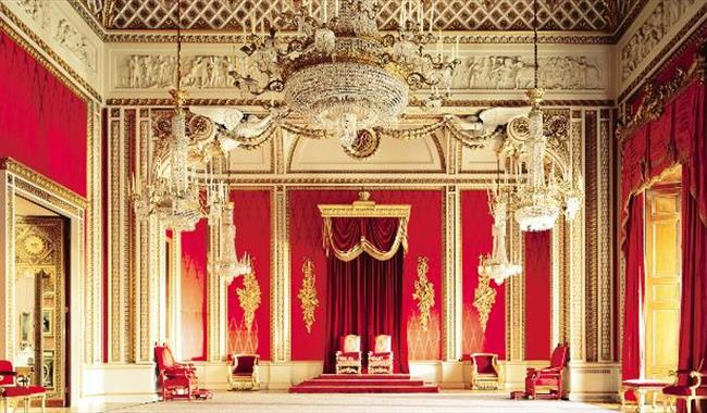 The State Rooms Buckingham Palace