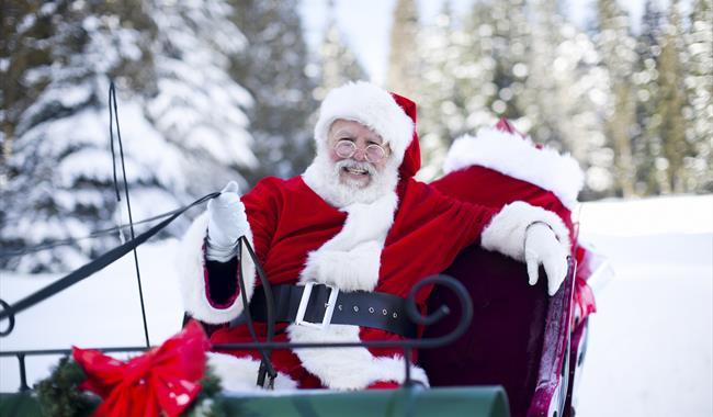 Tea With Father Christmas