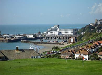 Image of Folkestone Harbour
