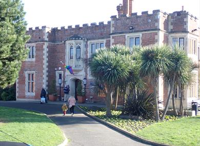 External view of Hastings Museum and Art Gallery, East Sussex