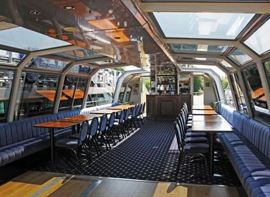 Interior or Hibernia passenger vessel - Hobbs of Henley