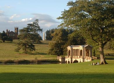 Summer At Stowe Landscape Gardens