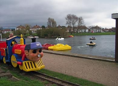 Diddlyland train - Brooklands Park Worthing