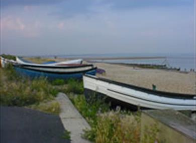 Boats at Selsey