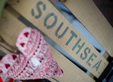 Southsea lettering - UPIX Photography