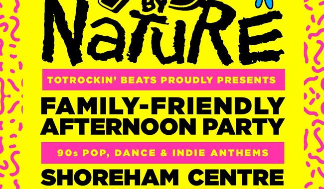 TotRockinBeats | 90s By Nature | Family-Friendly Rave