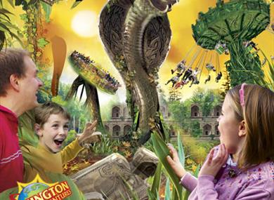 Chessington attraction poster