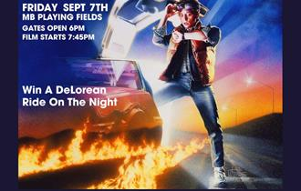 Back to the Future Outdoor Screening