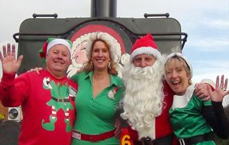 Santa Steam Trains ex Chinnor or Risborough £2 OFF at Chinnor & Princes Risborough Railway