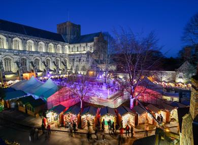 Winchester Cathedral Christmas Market