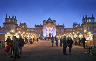 Christmas Market at Blenheim Palace