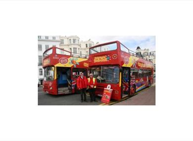 City Sightseeing Open Topped Bus