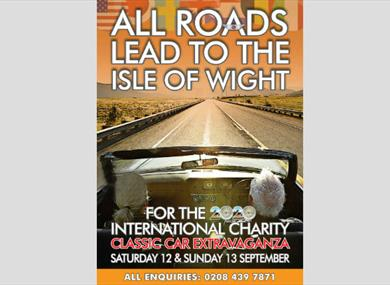 Isle of Wight - Things to Do - Classic Car Show - Ryde Isle of Wight