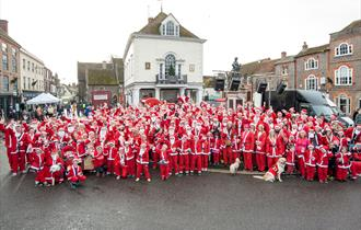 Wallingford Santa Dash