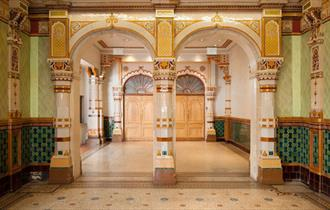 foyer in Brighton Dome