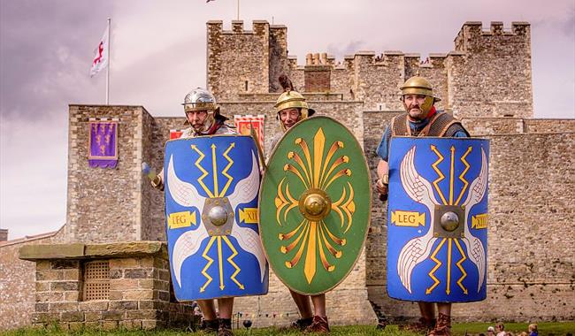 Clash of the Romans at Dover Castle