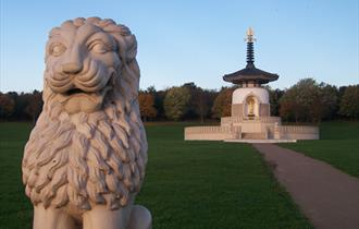 The Peace Pagoda, Willen Lake