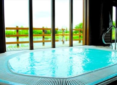 Jaccuzi at The Spa at Witney Lakes Resort