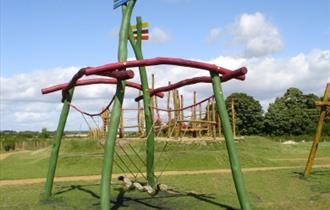 Snake swing in Kilkenny Lane Country Park