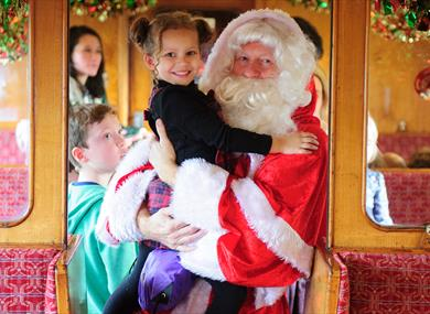 Santa Specials at The Watercress Line