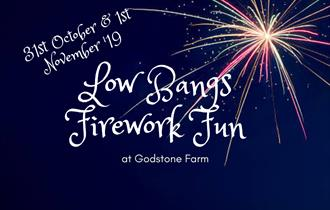 Low bangs fireworks and Halloween fun at Godstone Farm