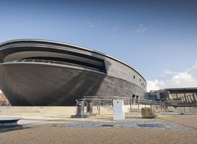 The Mary Rose at Portsmouth Historic Dockyard