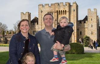 Mother's Day at Hever Castle