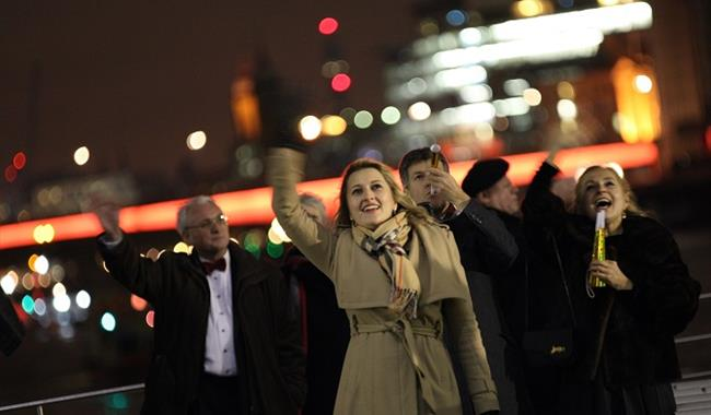 New Year's Eve Cruise on the Thames in London