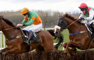 Point-to-Point Horse Racing at Charing Racecourse