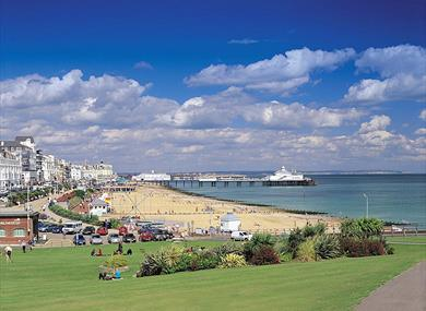 The seafront in Eastbourne, East Sussex