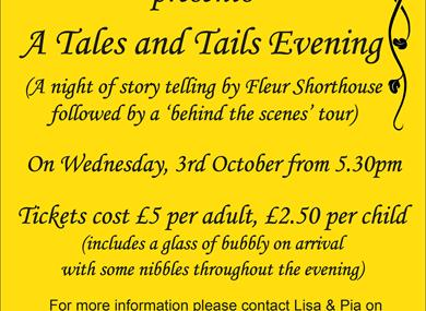 "A ""Tales & Tails"" evening at Dogs Trust Shoreham"