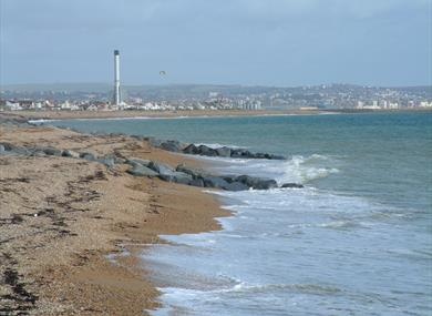 Part of Shoreham Beach