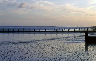 Bognor Regis Coastline in West Sussex