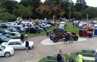 Classic Car Show at Dover Transport Museum