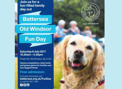 Battersea Dogs Old Windsor Fun Day at Priest Hill