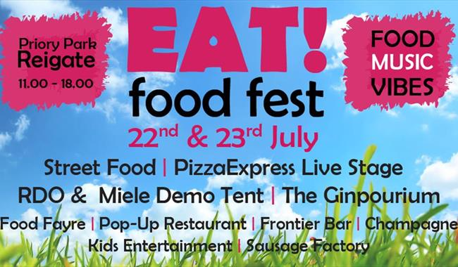 EAT! Food Festival at Priory Park