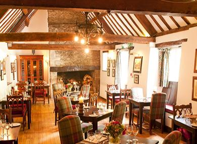 The Big Dining Room at the Old Swan