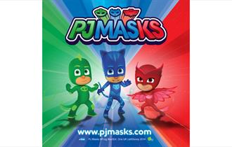 Catboy, Owlette and Gekko from PJ Masks