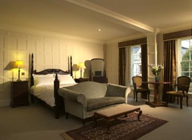 Bedroom at the Old Vine