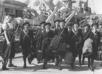 Women and the Royal Navy at National Museum of the Royal Navy Portsmouth