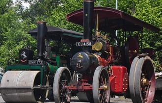 Summer Festival of Steam at the Spa Valley Railway in Tunbridge Wells
