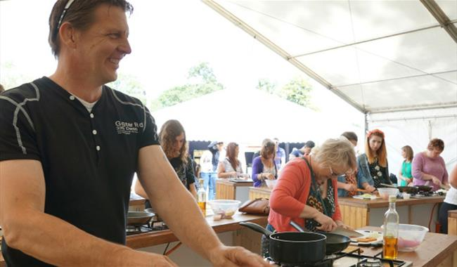 Mapledurham Food And Craft Festival